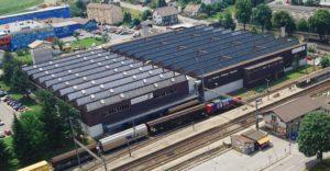 Standort: Schmitten Nutzung: Produktion, Logistik und Büro Nutzfläche: 18'610 m2