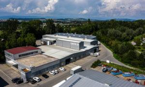 Emplacemen: Domdidier Affectation: Production et bureaux Surface utile: 7'680 m2